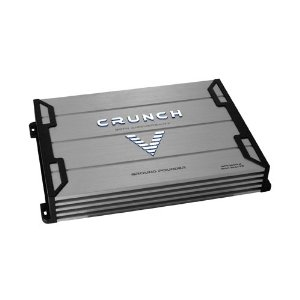 Crunch Ground Pounder GPV1600.4 800 Maxx Watt Power A/B Class Four Channel Amplifier (Silver)