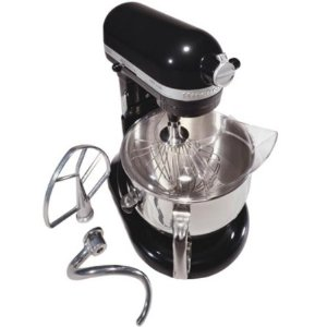 Pro Line Series Stand Mixer, 6 qt, Pouring Shield, Onyx Black