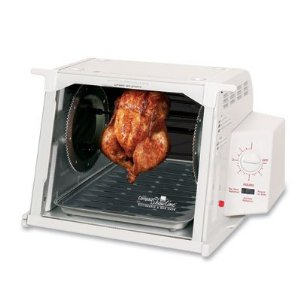 The Ronco™ ST3001WHGEN Compact Showtime+™ Rotisserie & BBQ