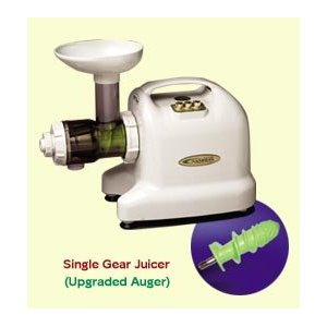 Organic Wheatgrass Growing Kit w/ Samson 6 in 1 Electric Wheat Grass Juicer- Grow & Juice Wheatgrass