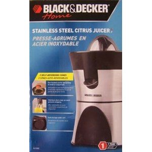 Black & Decker Citrus Juicer - Stainless Steel