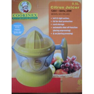 Electric Citrus Juicer 500 ml