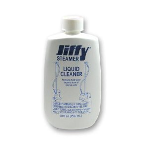 Jiffy Steamer liquid cleaner.