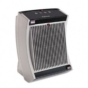 FamilySafe Power Heater, 9.45w x 9.71d x 13.39h, Gray/Black (HLSHFH5717U) Category: Heaters and Humidifiers