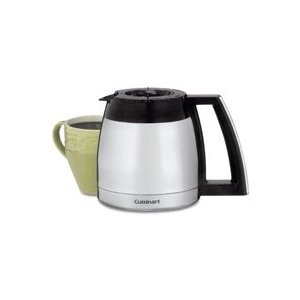 Cuisinart DCC-2400RC 12-Cup Stainless Thermal Carafe, Black