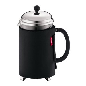 Bodum Nero Thermal Neoprene 12-Cup French Press Coffee Coat