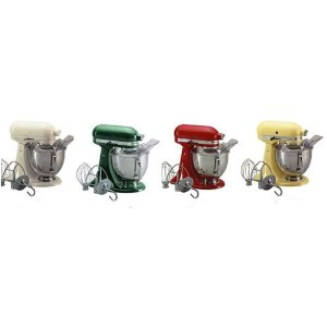 KitchenAid Artisan Mixer KSM150PS : 5 quart with Pouring Shield