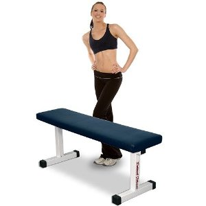 Deltech Fitness Flat Exercise Bench