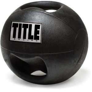 TITLE Double Handle Medicine Balls
