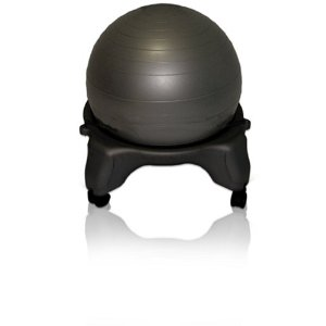DynaFlex BC0320 Ball Chair with Base