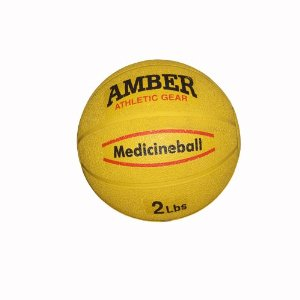 Amber Sporting Goods Rubber Medicine Ball