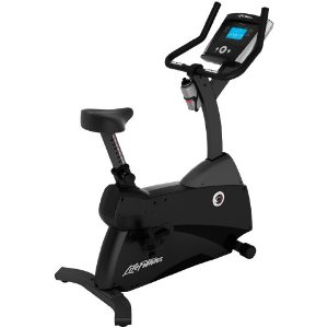 Life Fitness C1 Upright LifeCycle with Basic Console