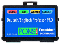 Franklin dbd3040 bookman german english dict