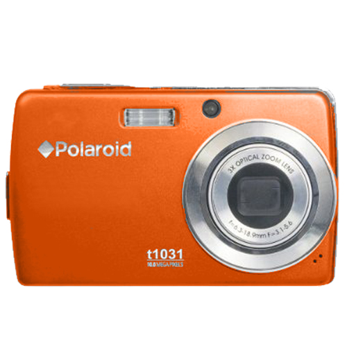 @polaroid rb t1031o orange original box digital camera 10mp
