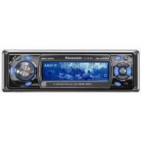 Remanufactured Panasonic 60W x 4 CD Player/Receiver with Radio DSP Dot Matrix Display and MP3/WMA Playback