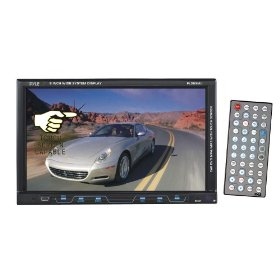 PYLE PLD89MU 8-Inch Single DIN TFT Touch Screen DVD/VCD/CD/MP3/CD-R/USB/SD/AM/FM/RDS Receiver