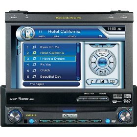 Audiovox VM9412 - DVD player with LCD monitor and AM/FM tuner