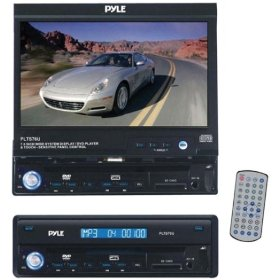 PYLE PLTS76U 7-Inch Motorized Touch Screen TFT/LCD Monitor With DVD/CD/MP3/AM/FM Player