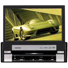 Clarion VRX585USB 7-Inch Single DIN Multimedia Station