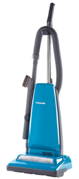 Panasonic mcug383 blue vacuum upright bagless 12amp 25ftcord