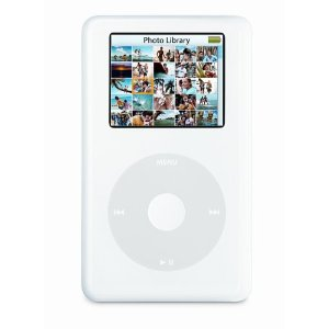 Apple iPod 30 GB Photo White M9829LL/A (4th Generation) OLD MODEL