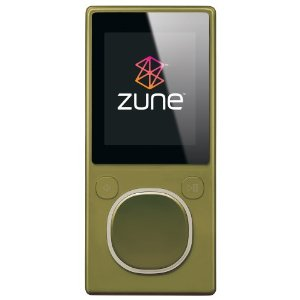 Zune 8 GB Digital Media Player Green (2nd Generation)
