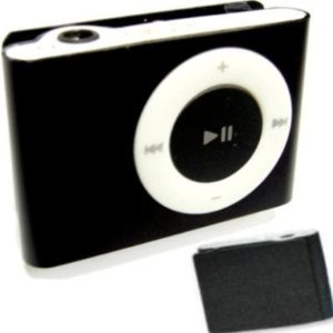 2.0GB BLACK Generic Brand Clip-On MP3 Player