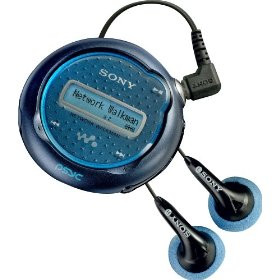 Sony NW-E105PS Network Walkman 512 MB Digital Music Player (Blue)
