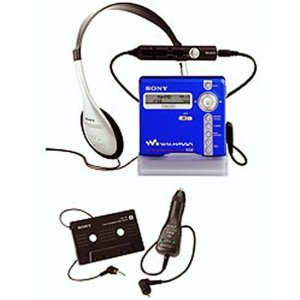 Sony MZ-N707 Net MD Walkman Player/Recorder (Blue)
