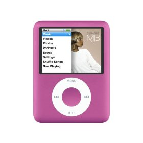 Apple iPod nano 8 GB Pink (3rd Generation) OLD MODEL