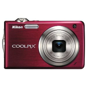 Nikon Coolpix S630 12MP Digital Camera with 7x Optical Vibration Reduction (VR) Zoom and 2.7 inch LCD (Ruby Red)