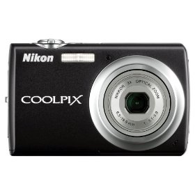 Nikon Coolpix S220 10MP Digital Camera with 3x  Optical Zoom and 2.5 inch LCD (Graphite Black)