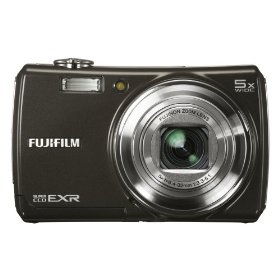 Fujifilm FinePix F200EXR 12MP Super CCD Digital Camera with 5x Wide Angle Dual Image Stabilized Optical Zoom