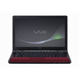Sony VAIO VPC-CW23FX/R 14-Inch Laptop (Red)