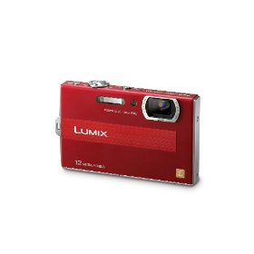 Panasonic Lumix DMC-FP8 12.1MP Digital Camera with 4.6x POWER Opical Image Stabilized Zoom and 2.7 inch LCD (Red)