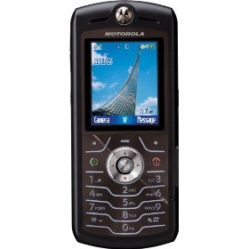 Motorola SLVR L7 Unlocked Phone with Camera, MP3/Video Player, and MicroSD Slot--International Version with No Warranty (Black)