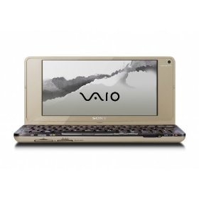 Sony VAIO Lifestyle VGN-P688E/N 8-Inch Laptop - Gold