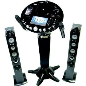 The Singing Machine ISM1028 - Karaoke system with iPod dock