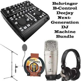 Behringer B-Control Deejay Next-Generation DJ Machine Bundle