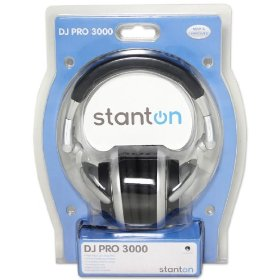 Brand New Stanton Djpro3000 High Output Flexible Dj Headphones with Built in High and Loas Pass Crossover Filters to Eliminate Unwanted Noises