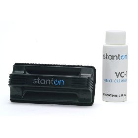 Brand New Stanton Vc-1 Advanced Record Cleaning Kit with Cleaning Fluid and Cleaning Brush