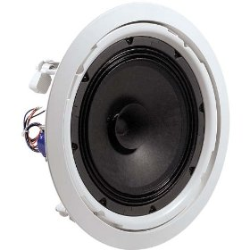 JBL 8128 In Ceiling Speaker 8 Inch Driver With Dual Cone, 70V/100V Taps, 90 Degree Conical Coverage Priced and sold as a Pair