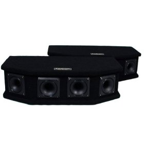 New DJ PA Band Karaoke Sub Add On Tweeter Boxes Stage Speaker Pair TW6