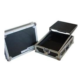 Eurolite DJ Mixer Case with Laptop Shelf, 10 inch