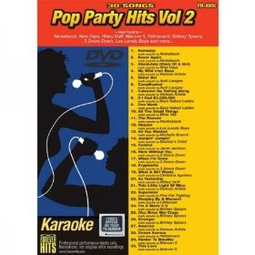 Forever Hits 4906 Pop Party Hits Vol 2 (30 Song DVD)