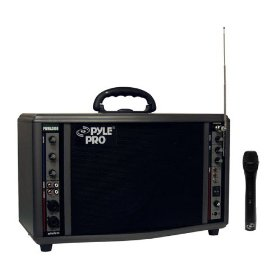 Pyle PWM-A3600 200-Watt Battery Powered PA System with Wireless Mic