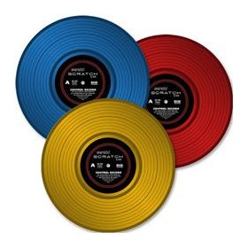 Rane Serato Scratch LIVE - Second Edition Control Vinyl Record, Blue