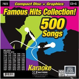 Forever Hits 7923 Famous Hits Collection (50 Disc 500 Songs)