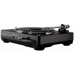 Gemini DJ CDT-05 Professional Turntable/CD Player Hybrid System