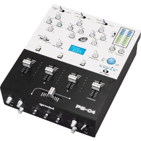 Gemini Three-Channel Stereo FX Mixer